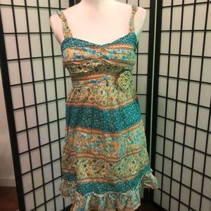 City Triangles Small 3 NWT floral patchwork dress